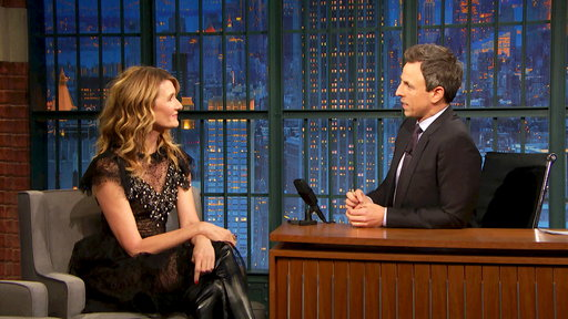 Late Night with Seth Meyers S05E44 Laura Dern, Fergie