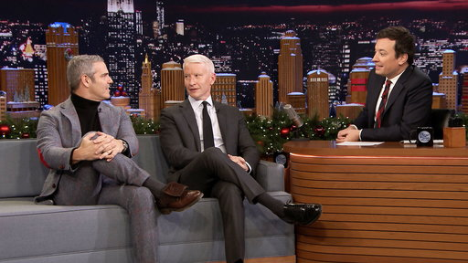 The Tonight Show Starring Jimmy Fallon S05E53 Anderson Cooper and Andy Cohen, Issa Rae, DRAM ft. BigBabyMom