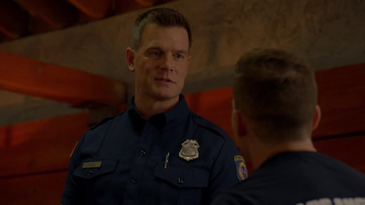 Evan Shows Up Late To The Firehouse Dinner