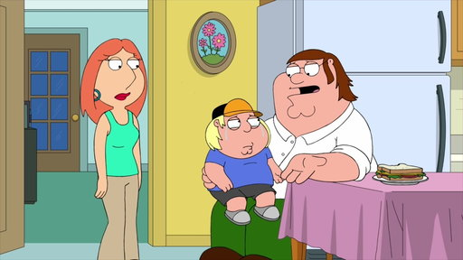 S16E10 Lois Is Concerned About Chris