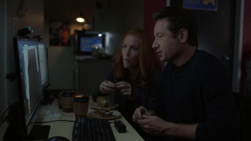 S11E02 Scully & Mulder Research A Building