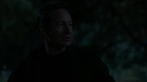 S11E02 Mulder & Scully Search Through A Graveyard