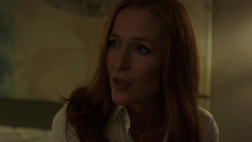 S11E03 Scully & Mulder Disagree Over Ghosts Being Real