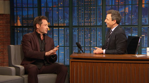 Late Night with Seth Meyers S05E52 David Duchovny, Megan Boone, Jillian Jacqueline