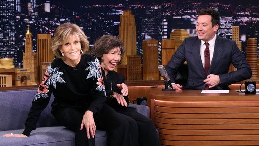 The Tonight Show Starring Jimmy Fallon S05E59 Lily Tomlin and Jane Fonda, Cole Sprouse, Walk the Moon