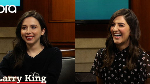 Larry King Now S06E75 D'Arcy Carden and Esther Povitsky on comedy and success