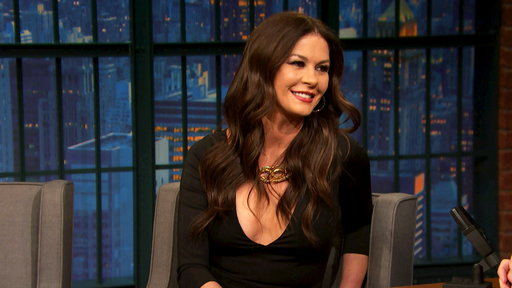 Late Night with Seth Meyers S05E55 Catherine Zeta-Jones, Carrie Brownstein, Glen Hansard