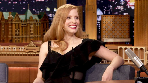 The Tonight Show Starring Jimmy Fallon S05E62 Jessica Chastain, Ricky Martin, Franz Ferdinand