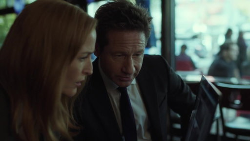 S11E05 Scully & Mulder Research A Monster