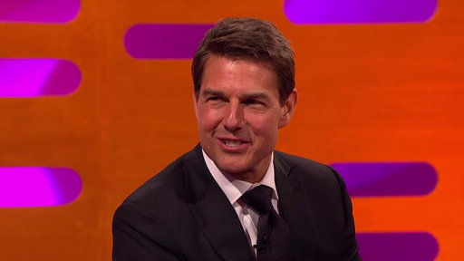 S22E15 Tom Cruise Shows Slow-Mo Footage of How He Broke His Ankle