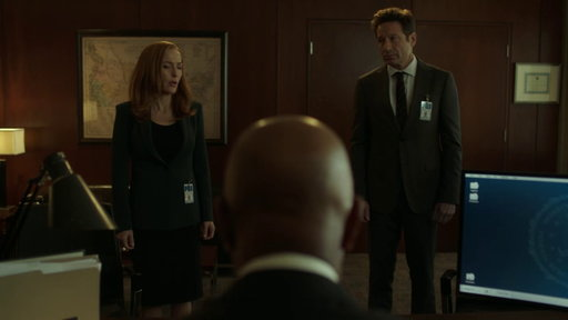 S11E6 Scully & Mulder Meet with the Deputy