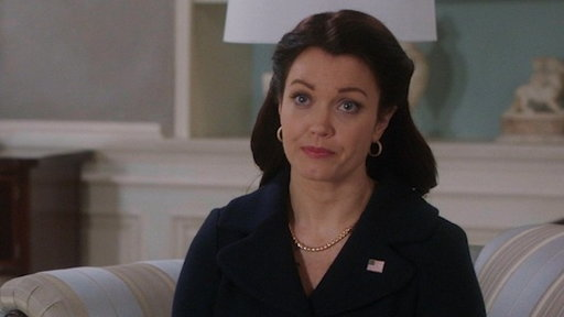 S07E11 Olivia Confronts Mellie in the Oval Office