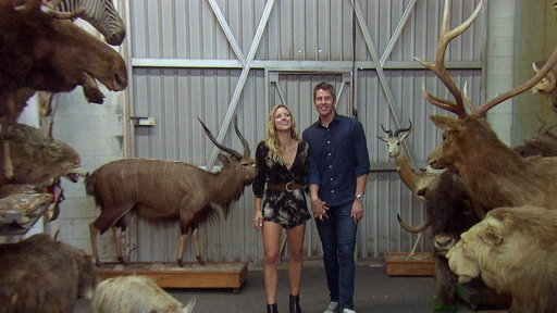 S22E1 The Bachelor Week 8 Sneak Peek: Kendall Shares Taxidermy with Arie