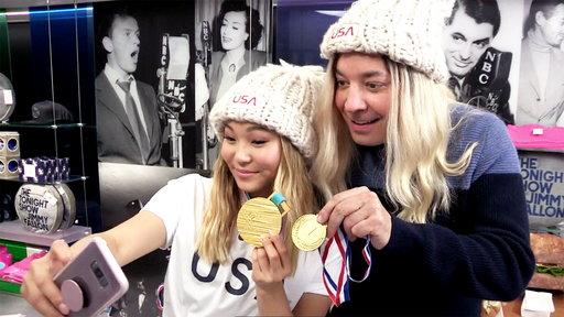S5E0 Chloe Kim Photobombs Fans and Finds Out She Made the Cover of Kellogg's Corn Flakes