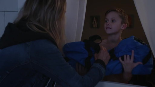 S2E16 Mickey Delivers Dry Pajamas To Ben At The Sleepover