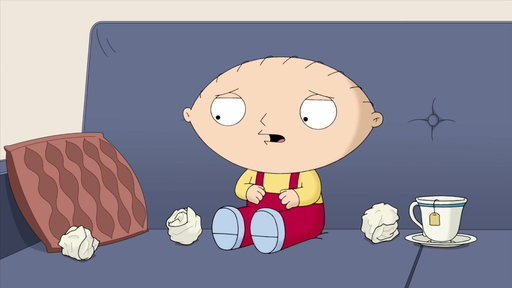 S16E12 Stewie Talks With His Real Voice