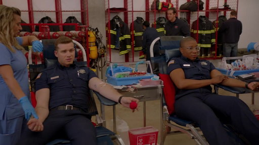 S1E8 The Fire Station Host A Blood Drive