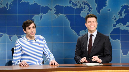 S43E18 Weekend Update: Pete Davidson on Kevin Love