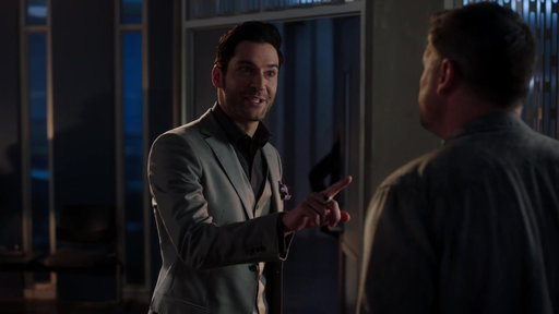 "S3E18 Lucifer Tries To Stop Marcus From Interviewing A Suspect from ""The Last Heartbreak"""