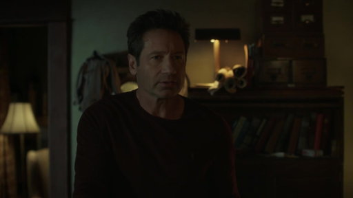 S11E10 Mulder & Scully Receive News About Their Sons Whereabouts