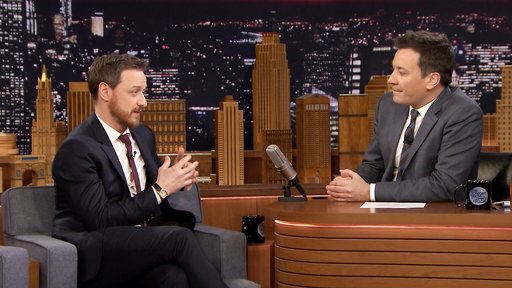 The Tonight Show Starring Jimmy Fallon S05E95 James McAvoy, Zoey Deutch, Panic! At the Disco