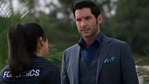 """S3E19 Ella Tries To Make Lucifer Feel Better from """"Orange Is the New Maze"""""""