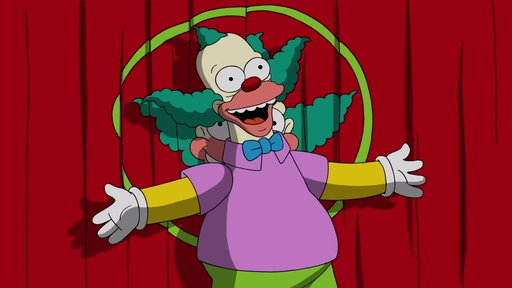 S29E14 Krusty the Clown Takes The Stage