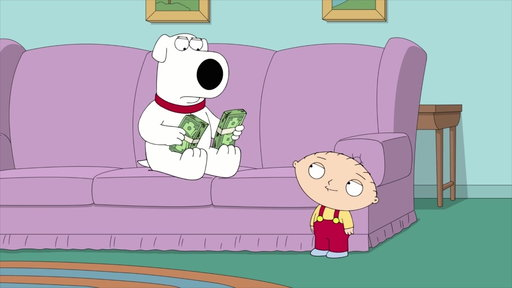 S16E15 Stewie Makes Bank