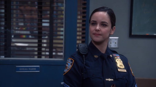 S5E16 Amy Is Now A Sergeant