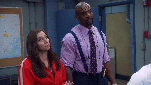 S05E18 Gina & Terry Are Creating Captain Holt's Twitter Account