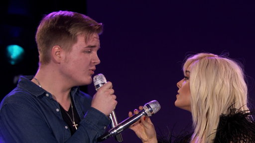 S1E12 Caleb Lee Hutchinson and Bebe Rexha's Duet