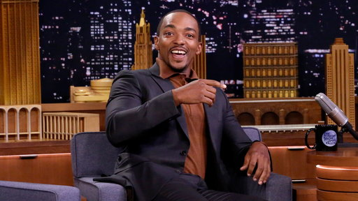 Season 5, Episode #112 Anthony Mackie's First Time Smoking Weed Got Him Chased by a Moose Screenshot