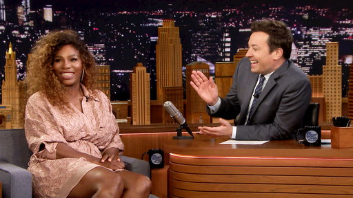 The Tonight Show Starring Jimmy Fallon S05E115 Serena Williams, Priyanka Chopra, David Blaine