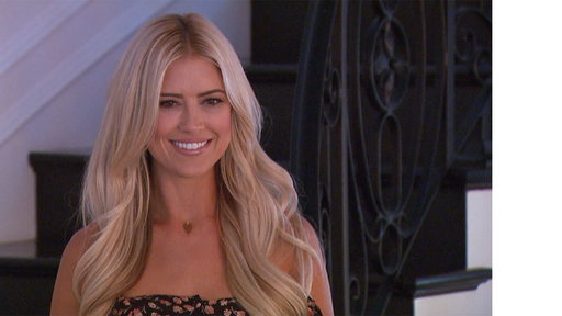 The recently separated British TV presenter spent the holidays with the Flip or Flop star in Newport Beach California