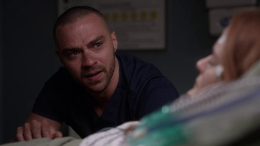 S14E23 Jackson Avery Prays for April Kepner