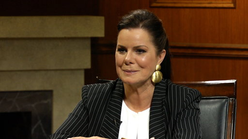 S6E123 Does Marcia Gay Harden think the 'Fifty Shades' trilogy is feminist?