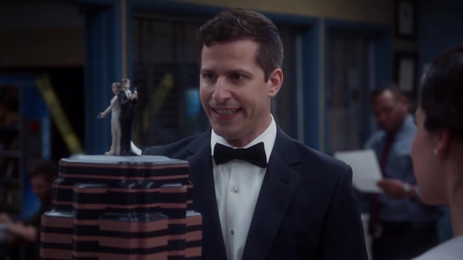 S5E22 The Wedding Cake Is Moved to the Precinct