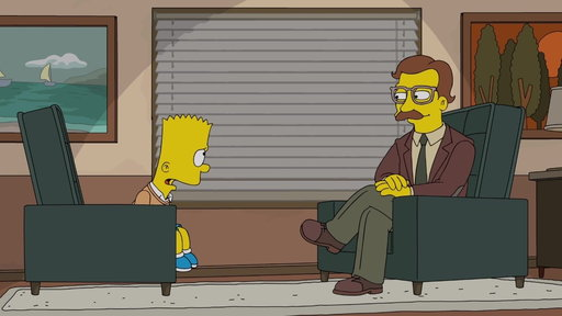 S29E21 Bart Meets With a Psychiatrist