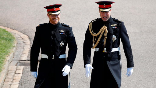 S0E0 Royal Wedding: Prince Harry, William Enter St. George's Chapel