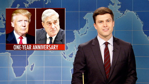 S43E23 Weekend Update on One-Year Anniversary of Robert Mueller Investigation