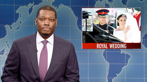 S43E23 Weekend Update on Prince Harry and Meghan Markle's Royal Wedding