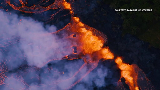 S0E0 Mount Kilauea explodes again as lava continues to advance