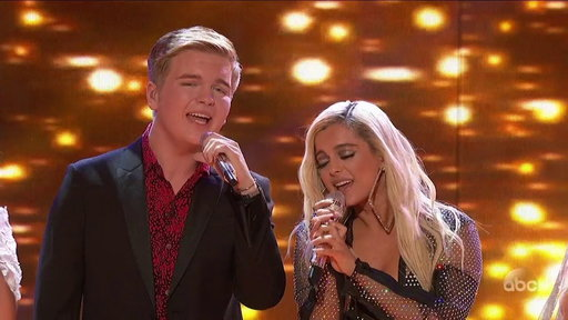 """S1E19 Caleb Lee Hutchinson, Gabby Barrett, Maddie Poppe, and Bebe Rexha Perform """"Meant to Be"""""""