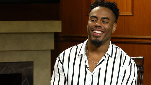 Larry King Now S06E128 Rashad Jennings on His NFL Career, Concussion Protocol, & Eli Manning
