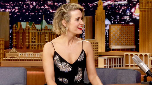 The Tonight Show Starring Jimmy Fallon S05E134 Sarah Paulson, Chris Hardwick, Danica Patrick, Foster the People