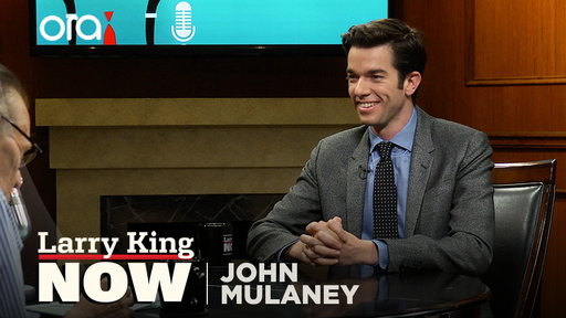 Larry King Now S06E134 John Mulaney on stand-up, SNL, and Mick Jagger