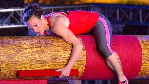 Season 10, Episode #5 Michelle Warnky: Second Woman to Climb the Warped Wall: 2014 Screenshot