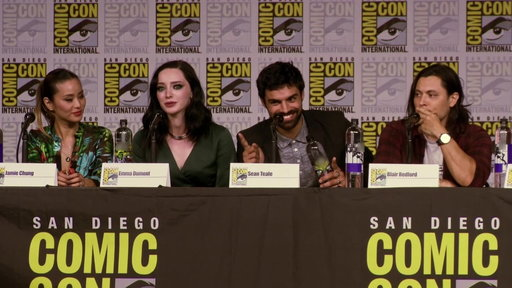 S1E0 The Gifted Panel At Comic-Con 2018