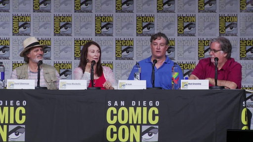 S29E0 The Simpsons Panel At Comic-Con 2018