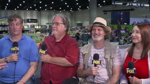 S29E0 The Simpsons Producers At Comic-Con 2018